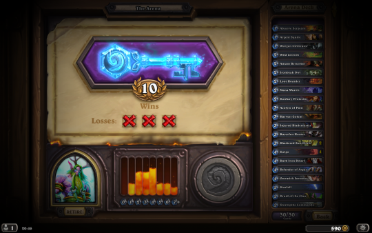 10 Wins in the Arena