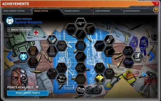 Marvel Heroes 2015 Omega System 2