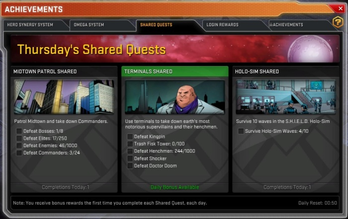 Shared Quests