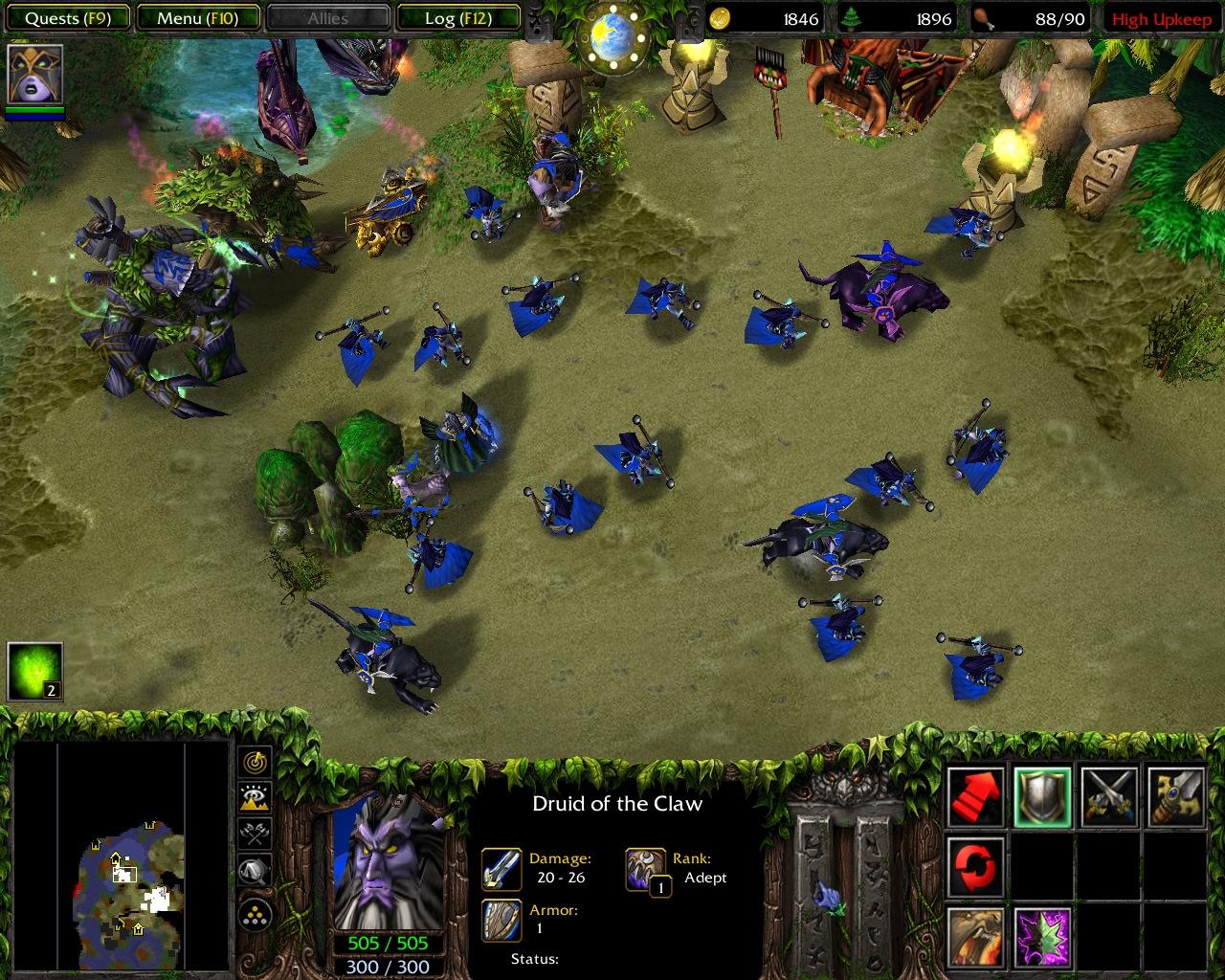 LAN Yarns : Warcraft 3 Maginot Line | Herring's Fishbait