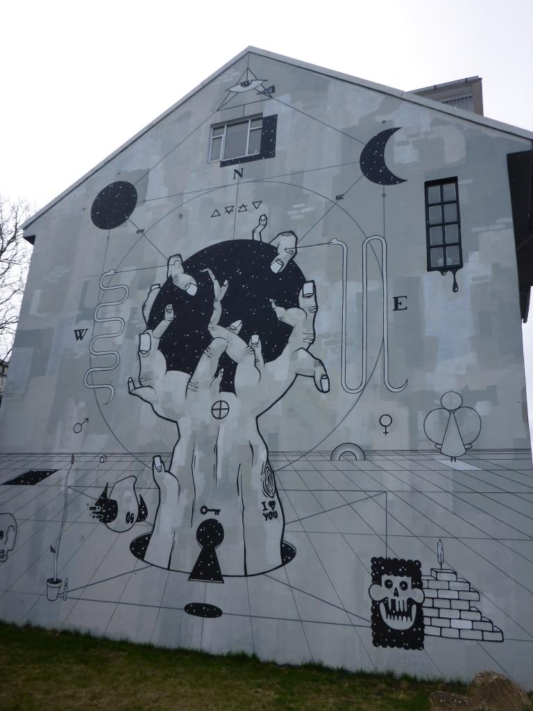 Reykjavik Mural