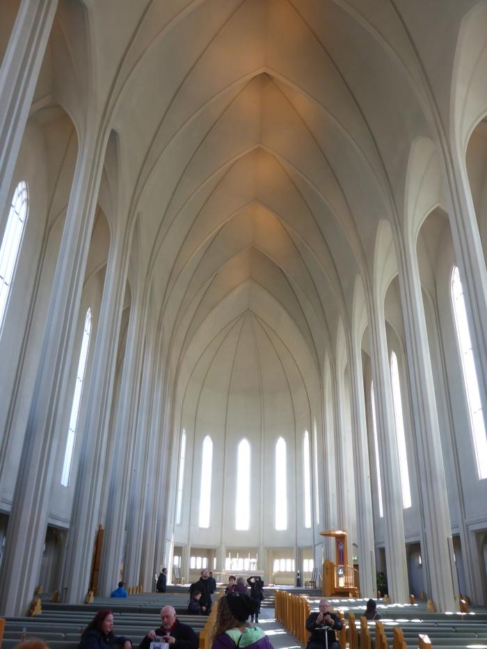 Inside Reykjavik Church