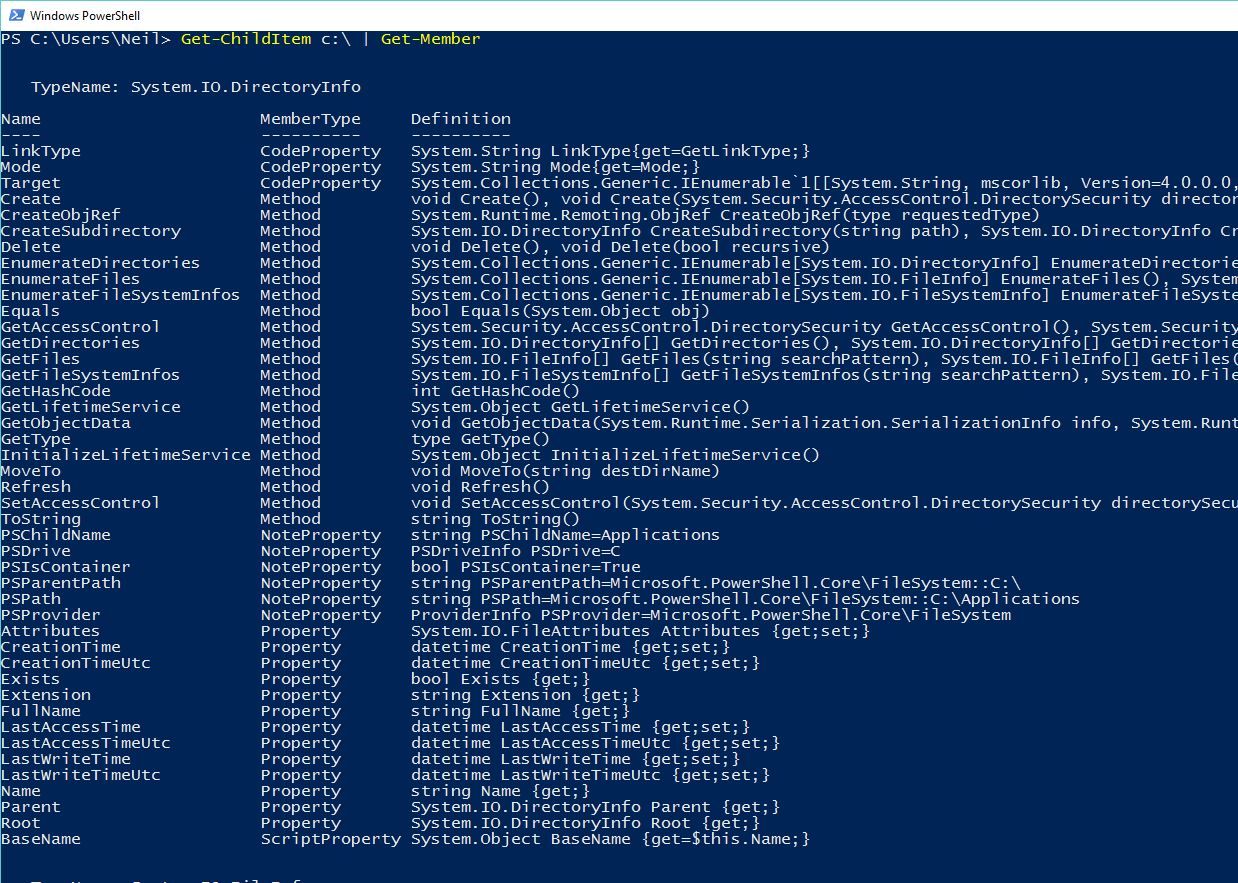 "PowerShell: Tutorial 2, ""Teach a Man to Fish"" or Working Out"